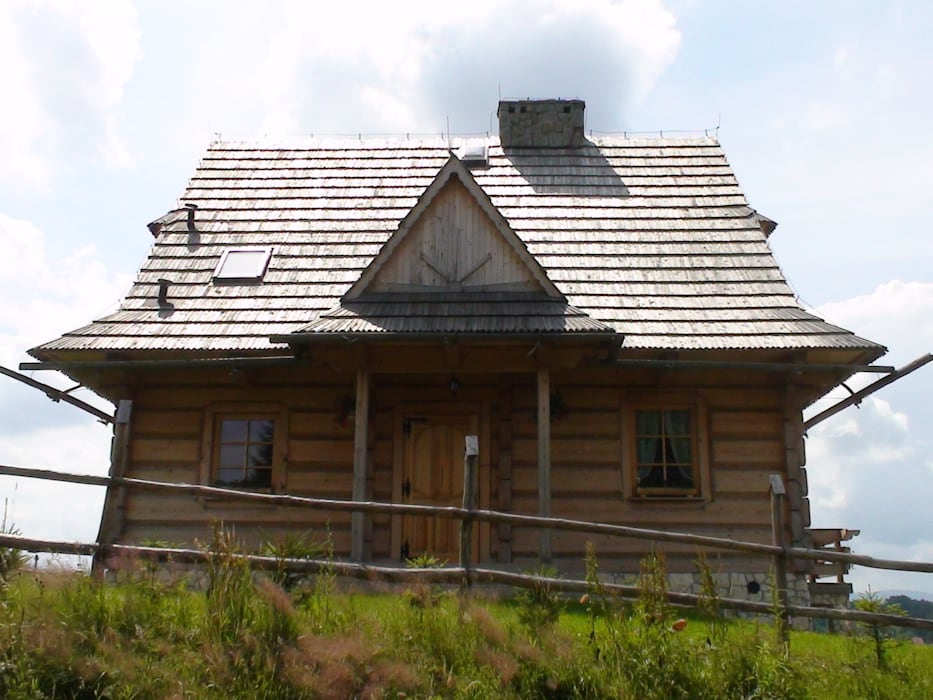 dom Murzasichle od DOMY GORALSKIE Wiejski