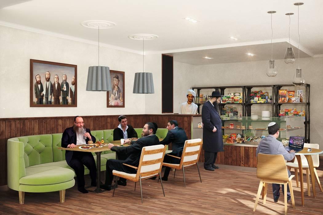Кафе - магазин кошерных продуктов Line In Design Ресторации