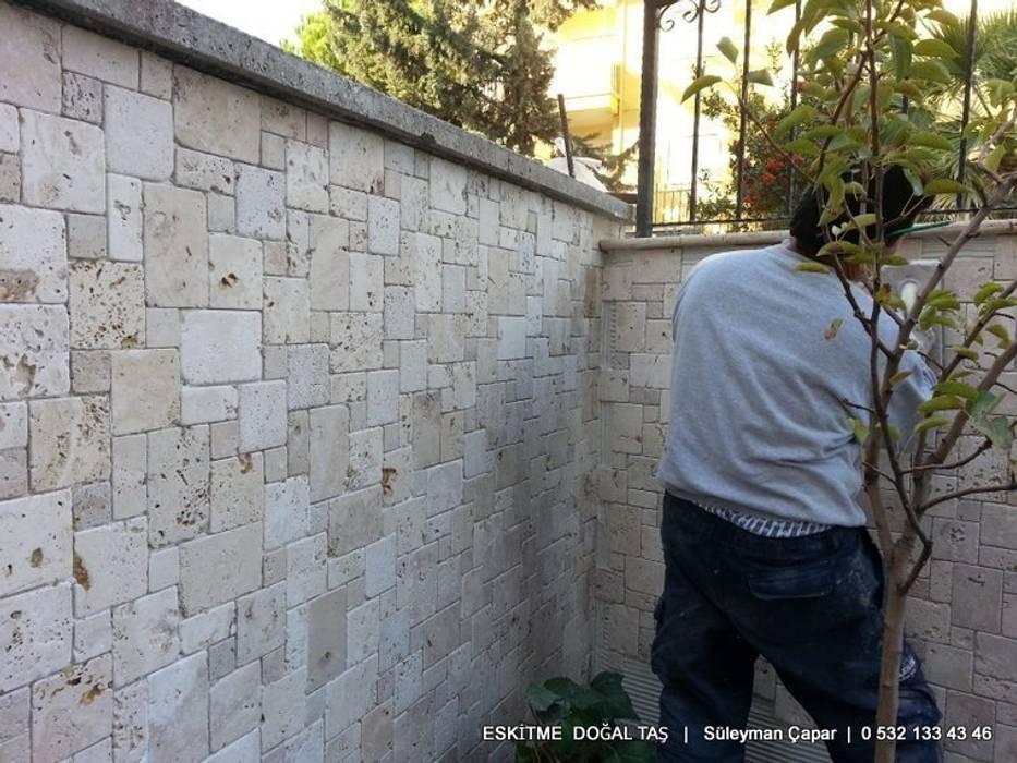 Eskitme Doğaltaş  – Eskitme Doğal Taş Duvar Kaplama Taşları: modern tarz , Modern