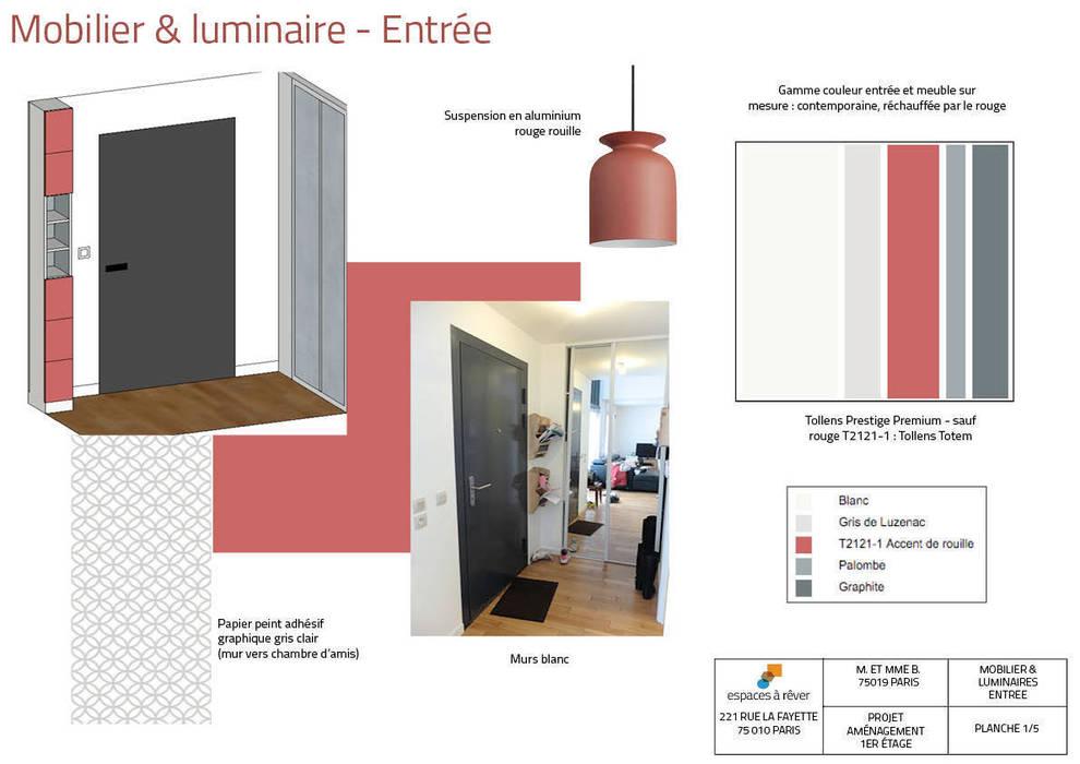 Planche Mobilier Entree Couloir Et Hall D Entree De Style