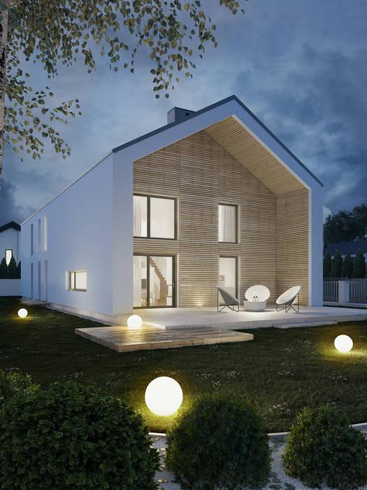 Casas modernas de Kunkiewicz Architekci Moderno