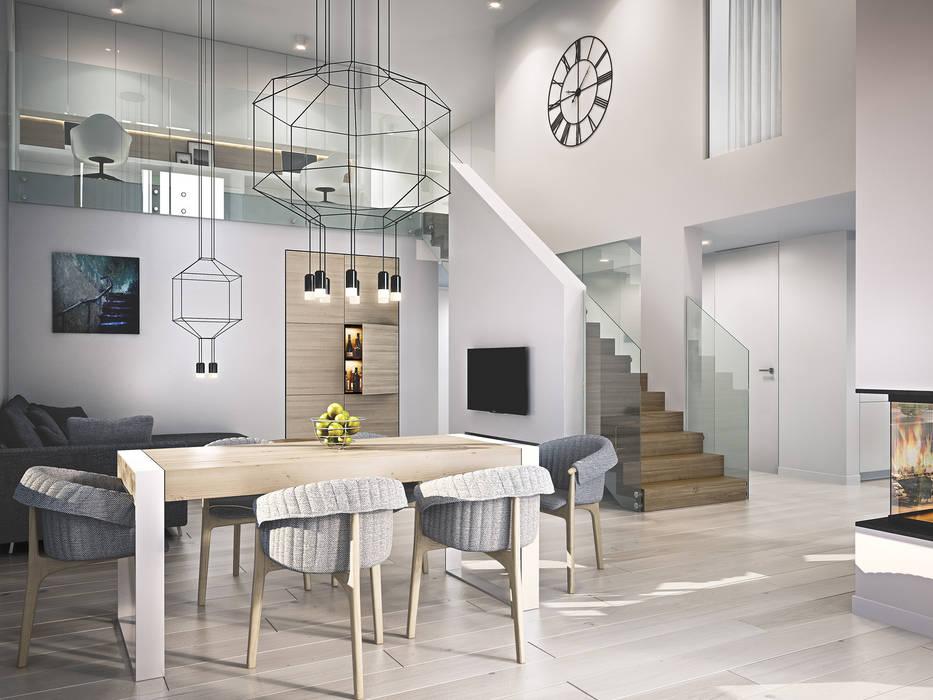 Kunkiewicz Architekci Modern dining room