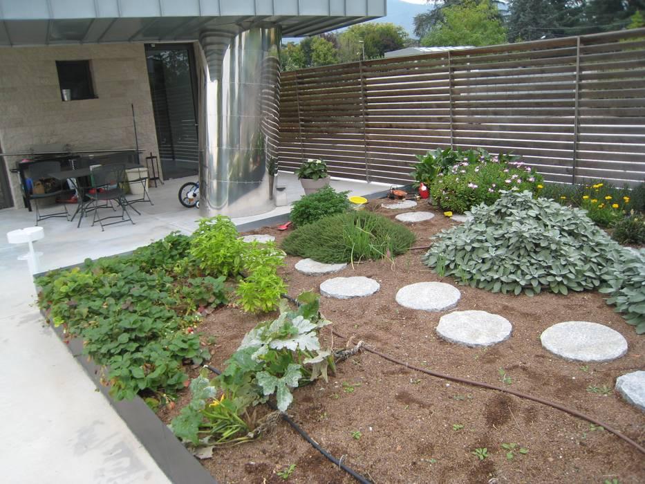 giardino per una villa moderna giardino in stile di