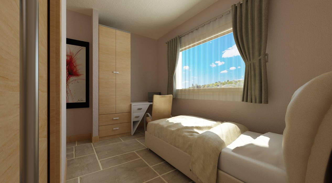 Спальня в средиземноморском стиле от homify Средиземноморский