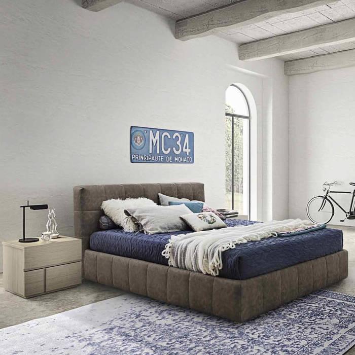'Ascot' bed with headboard by Veneran homify DormitoriosCamas y cabeceras