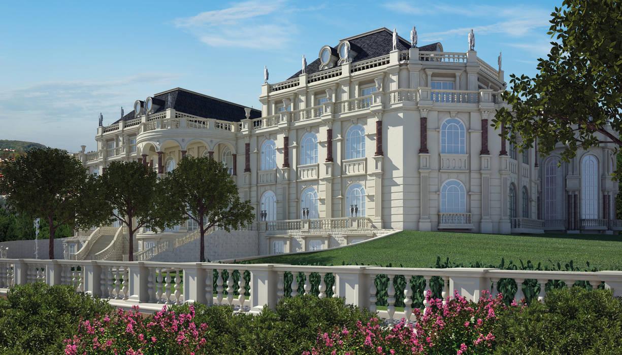Residenza Privata Ucraina (2007): Case in stile in stile Classico di Stramigioli Associati