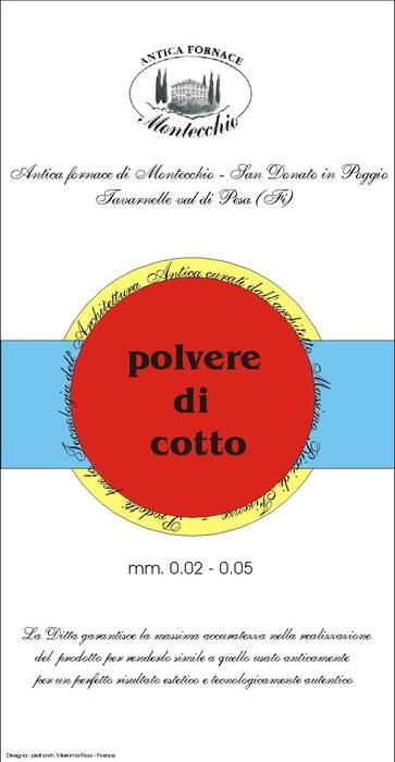 Materiali usati per la realizzazione del Cocciopesto: Ingresso & Corridoio in stile  di Montecchio S.r.l.