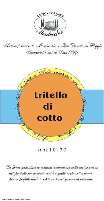 Garajes y galpones de estilo  por Montecchio S.r.l., Mediterráneo