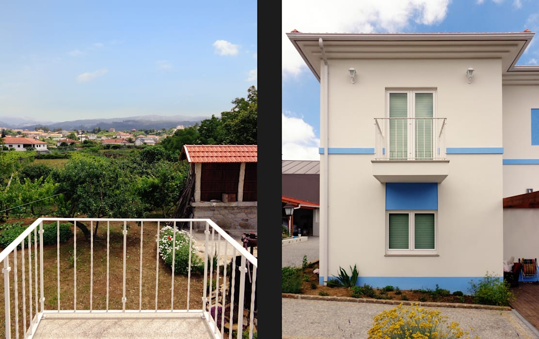 Terrazas de estilo  de EVA | evolutionary architecture, Rural
