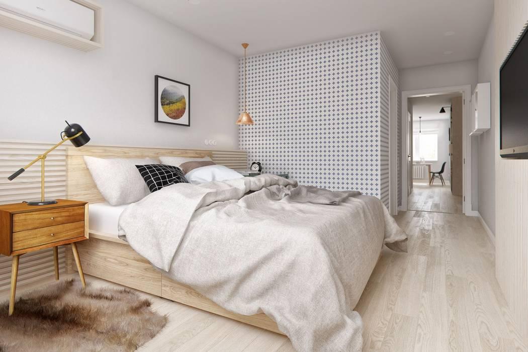 Kamar Tidur oleh INT2architecture, Skandinavia