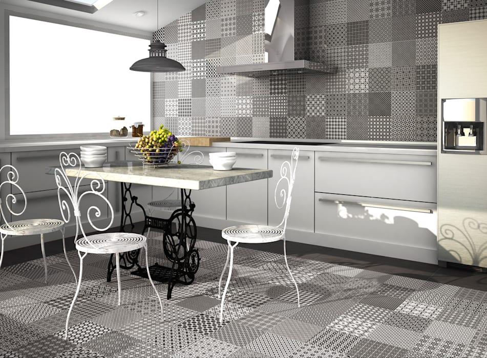 Kitchen by Gama Ceramica y Baño , Modern