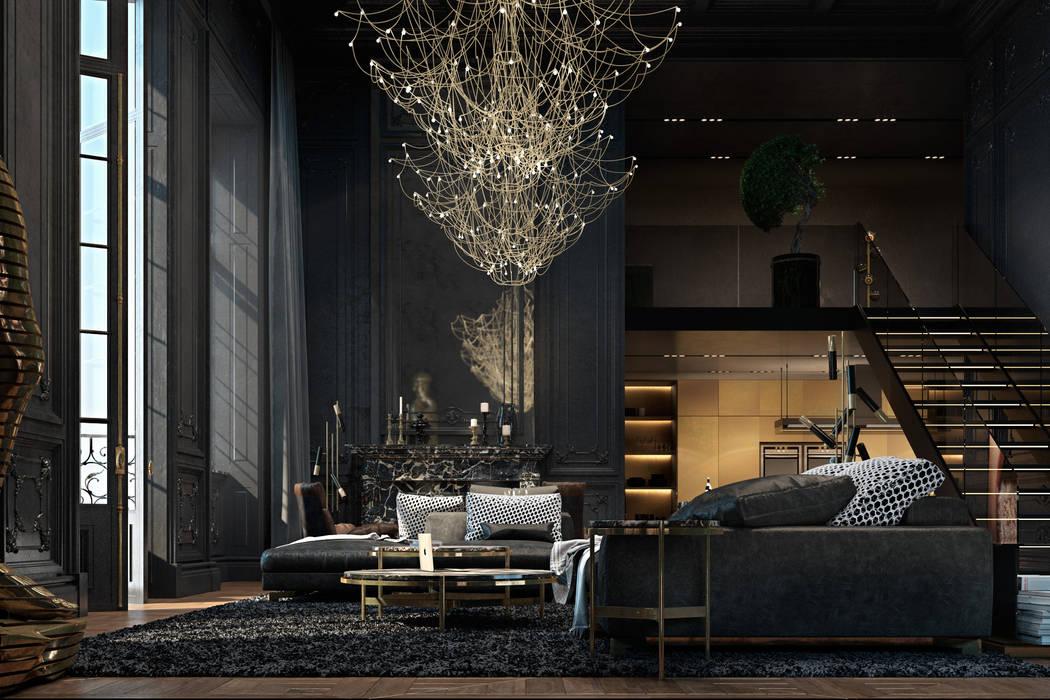 Paris apartment by Diff.Studio Eclectic
