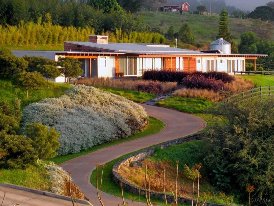 Casas de estilo  por Alvaro Moragrega / arquitecto, Moderno