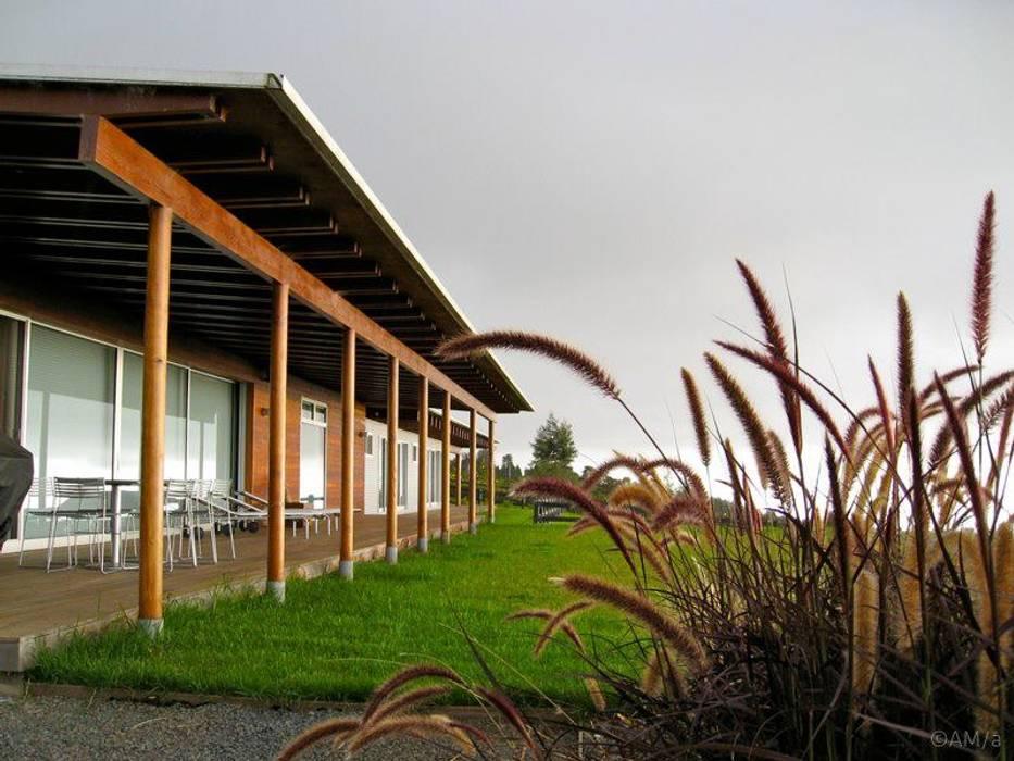 Jardines de estilo  por Alvaro Moragrega / arquitecto, Moderno
