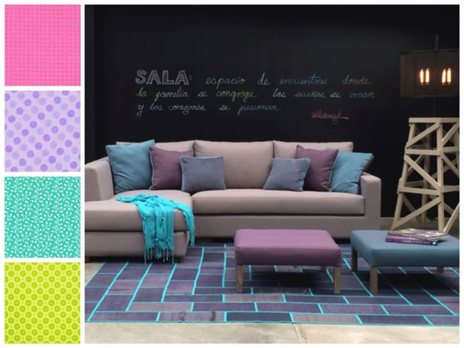 Sala : Salas de estilo  por MARIANGEL COGHLAN