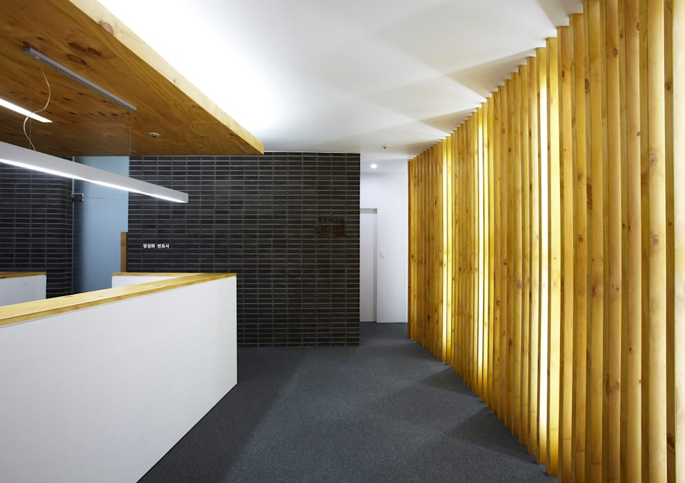 Phòng học/Văn phòng theo 스마트건축사사무소, Hiện đại