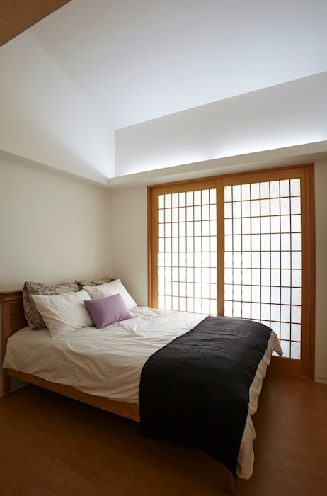 Modern style bedroom by 스마트건축사사무소 Modern