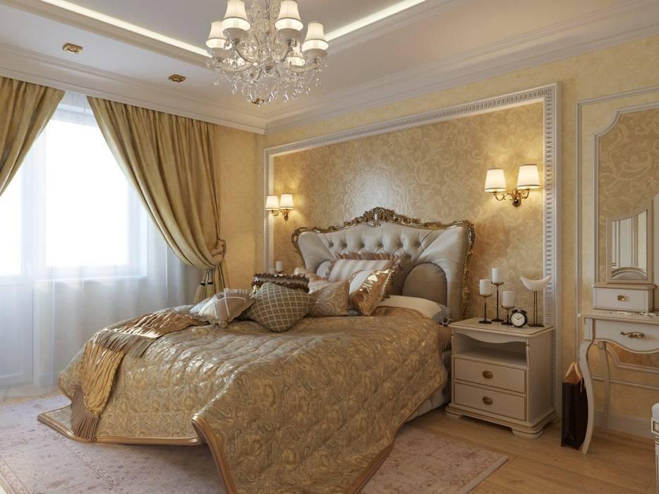 картинки спальни в классическом стиле прохладную