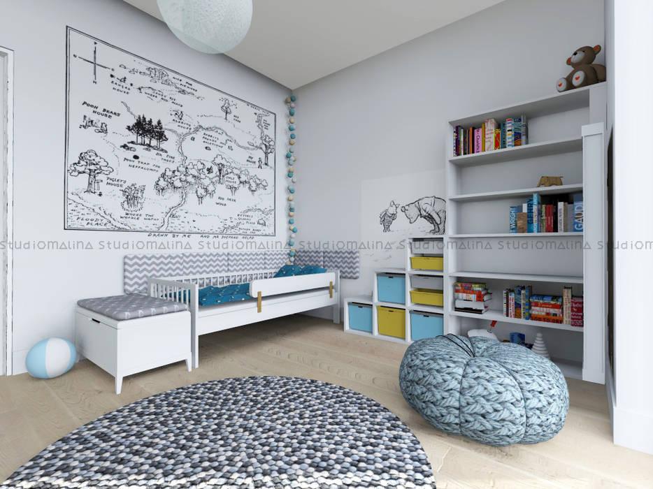 Dormitorios infantiles de estilo escandinavo de Studio Malina Escandinavo