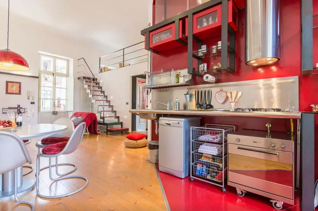 Industrial style kitchen by Simona Garufi Industrial