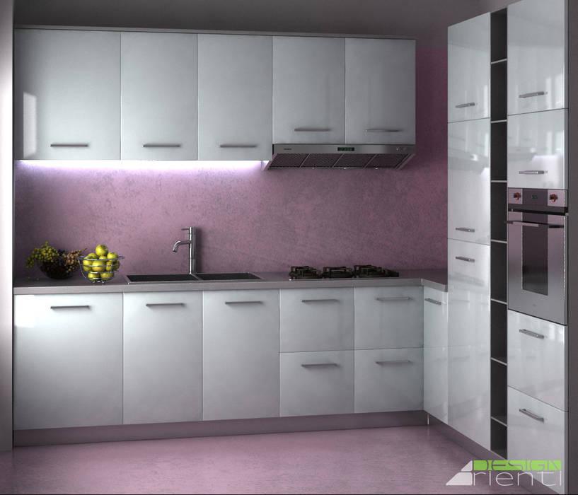 Cucina moderna: Cucina in stile in stile Moderno di Arienti Design