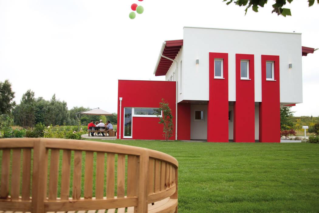 ELK Comfort 164 Trendline Moderne Häuser von ELK Fertighaus GmbH Modern