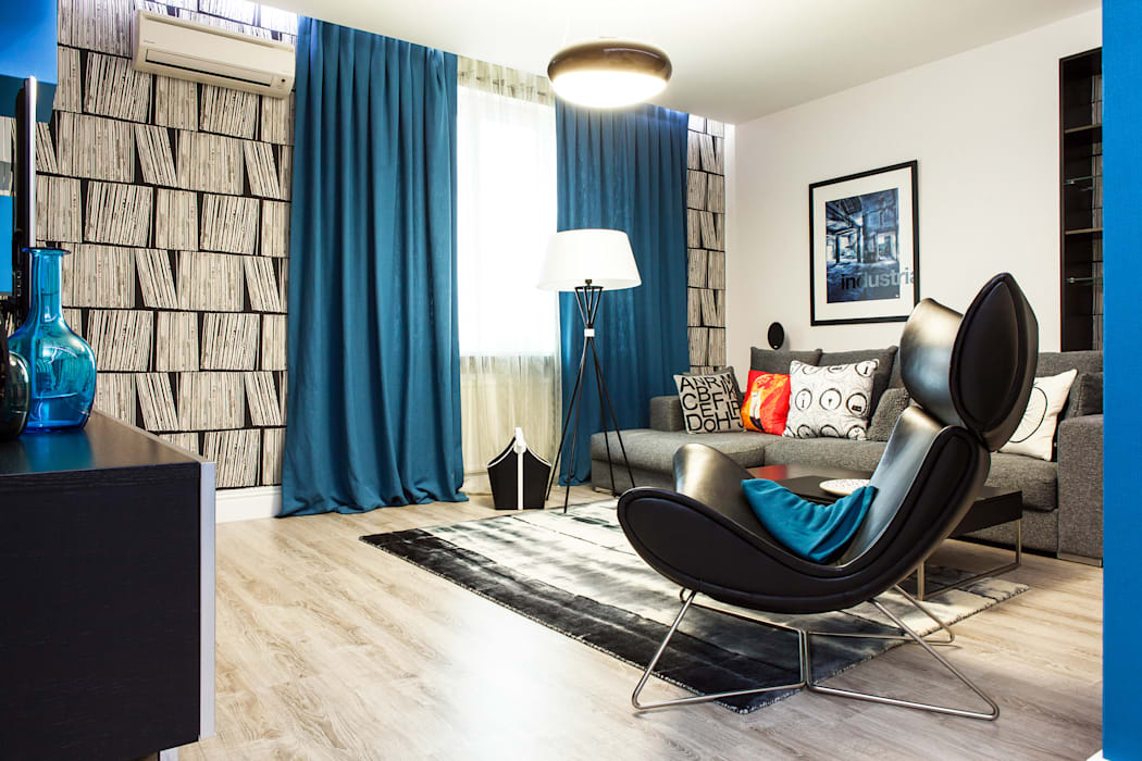 Ruang Keluarga Gaya Skandinavia Oleh Nika Loiko Design Skandinavia