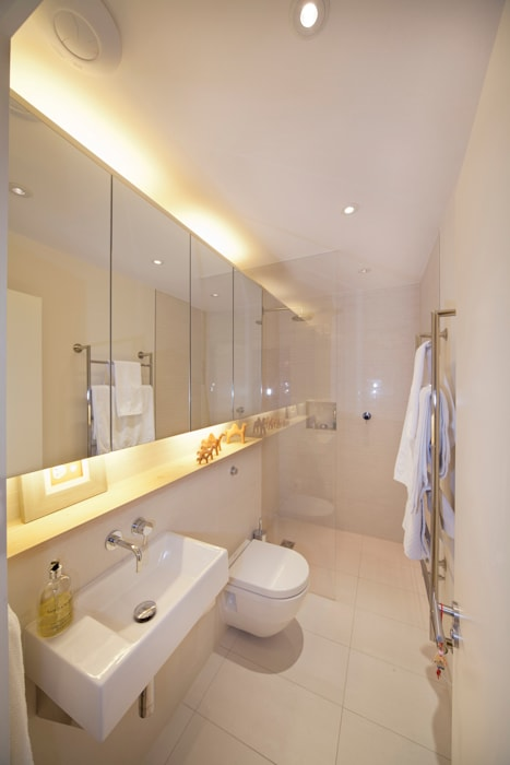 Basement Bathroom Scandinavian style bathroom by Gullaksen Architects Scandinavian