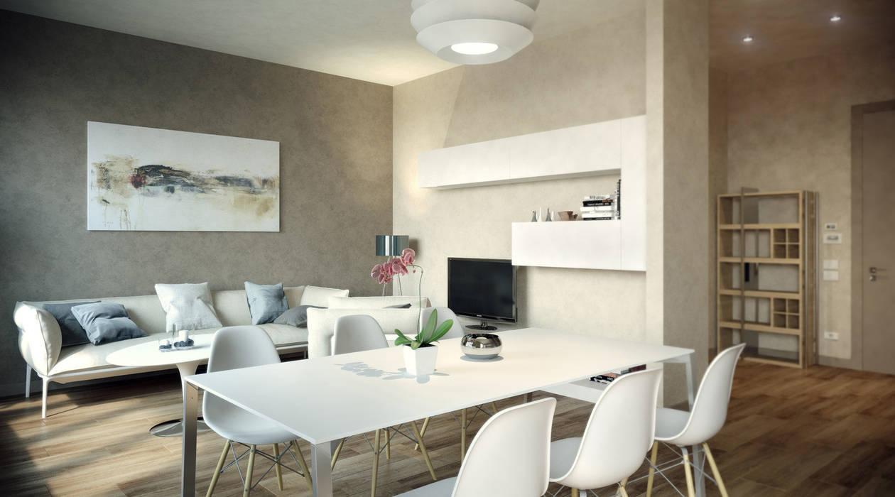 Ruang Makan oleh AK srl, Modern