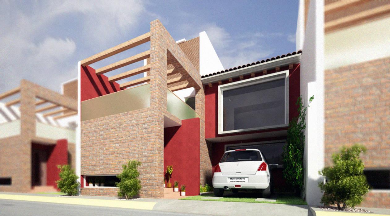 RTstudio Rumah Modern Red