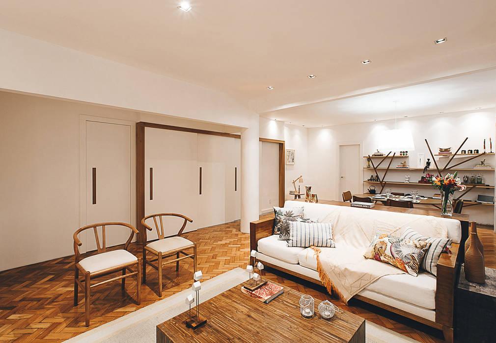 Living room by Cerejeira Agência de Arquitetura, Modern