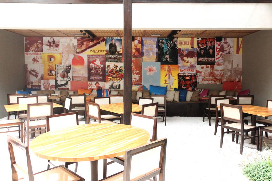 mmagalhães estúdio_Restaurante Sushibol Lounge: Espaços gastronômicos  por mmagalhães estúdio,Moderno