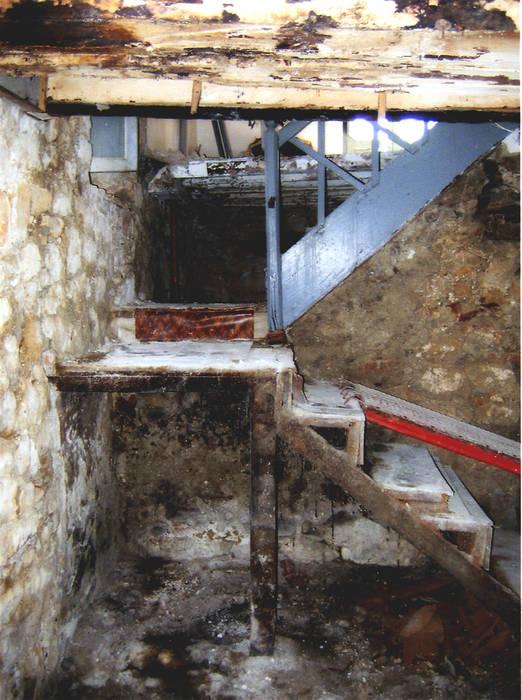 Escalera, estado previo. de CPETC Rural