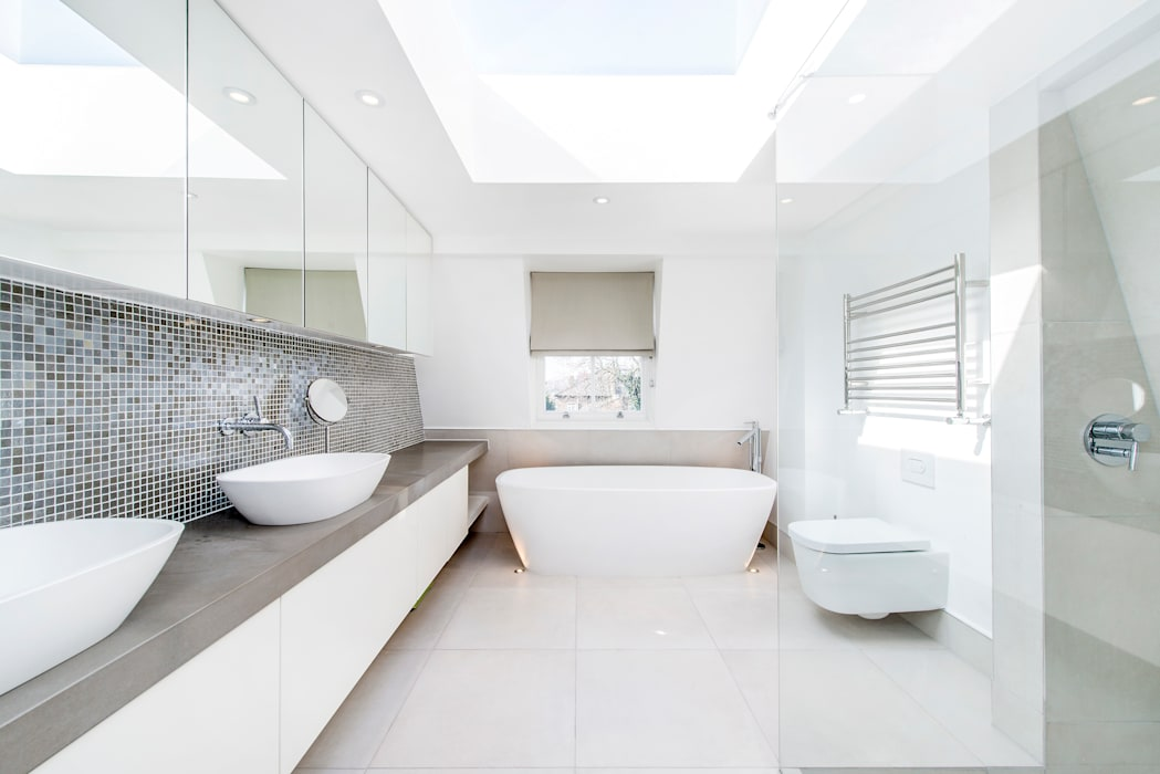 Contemporary Bathroom and Lighting : modern Bathroom by CATO creative