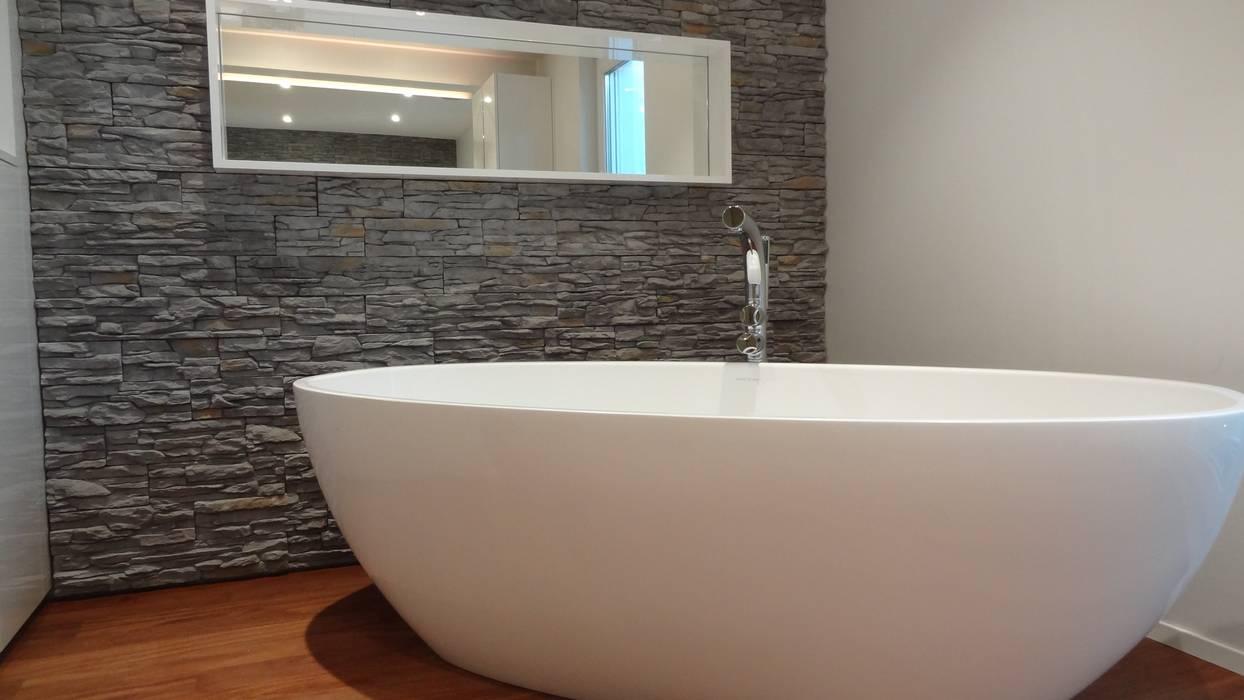 Badezimmer modern art: badezimmer von lallerdesign | homify