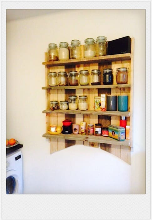 funky wall unit 1: industriële Keuken door Funky furniture