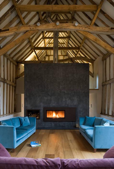 Chantry Farm Hudson Architects Modern living room