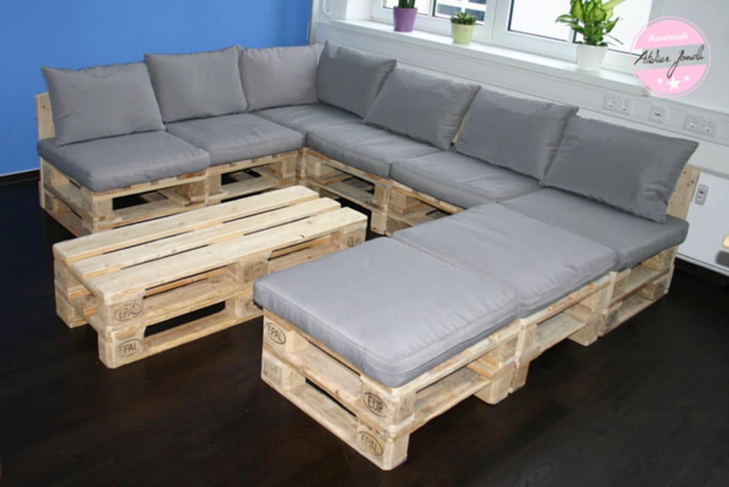 Exclusives lounge sofa – loft design – modul – innen- und ...