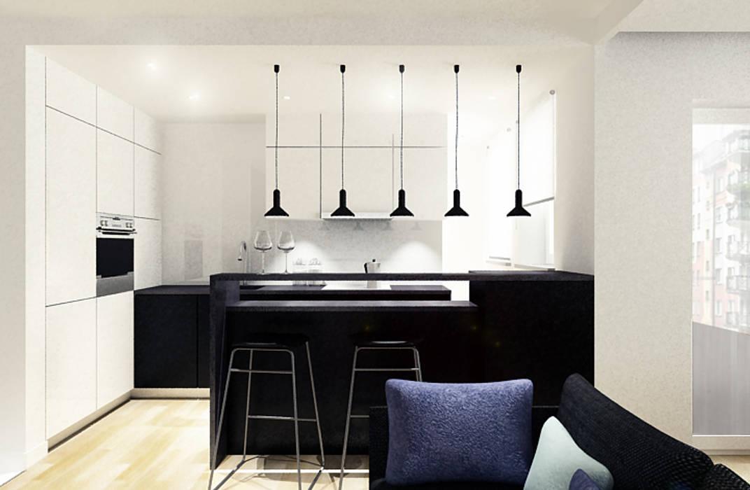 Cocinas de estilo moderno de COOLDESIGN Moderno