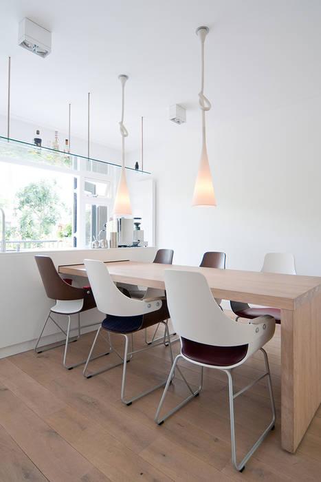 Woonhuis Utrecht Moderne keukens van ontwerpplek, interieurarchitectuur Modern