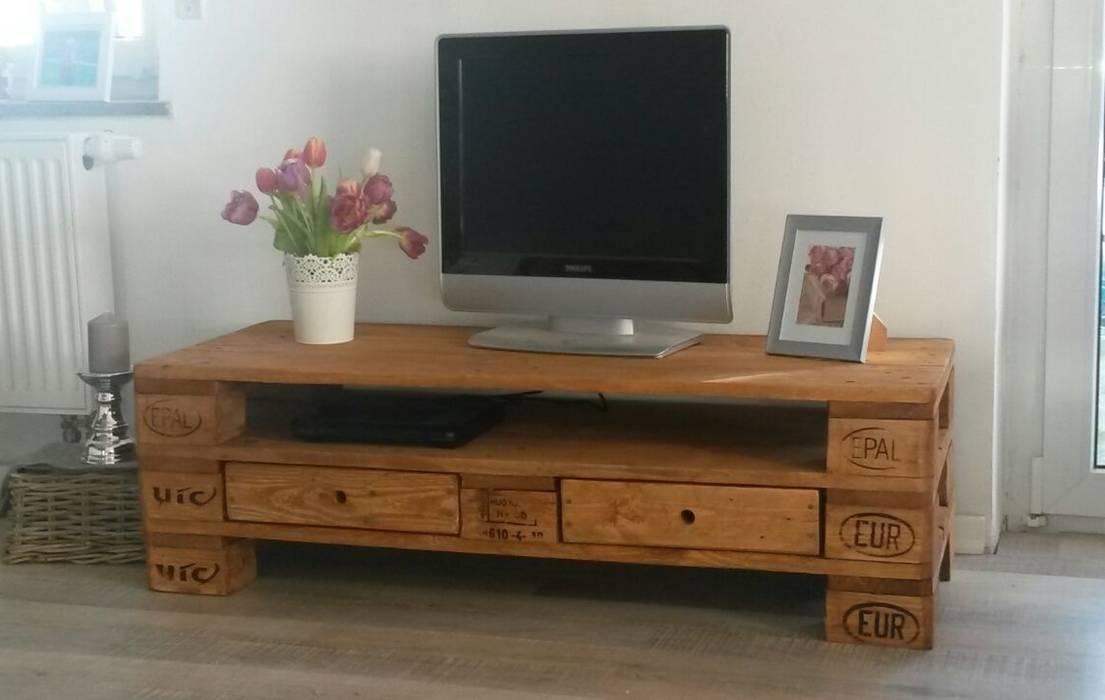 Tv Tisch Wohnzimmer Von Palettenmobel Biz Homify