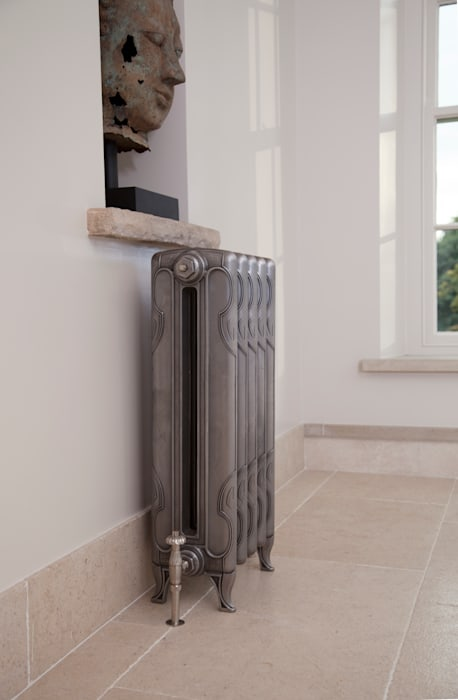 The Liberty 2 Column Cast Iron Radiator available at UKAA UKAA | UK Architectural Antiques BathroomTextiles & accessories