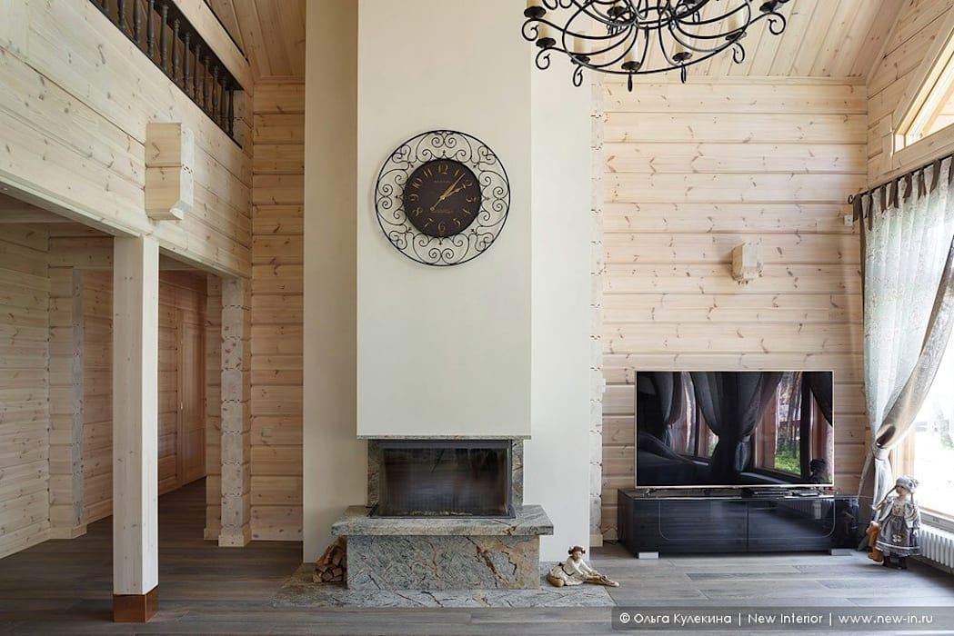 Livings de estilo escandinavo de Ольга Кулекина - New Interior Escandinavo