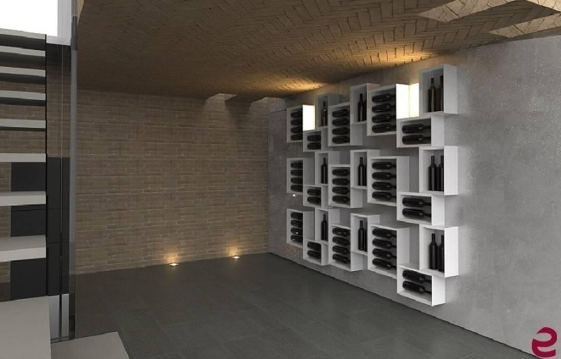 Arredamento Esigo per cantina privata: Cantina in stile in stile Moderno di Esigo SRL