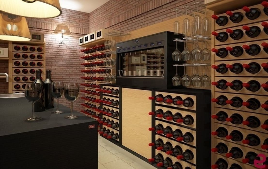 wine cellar by esigo srl classic homify