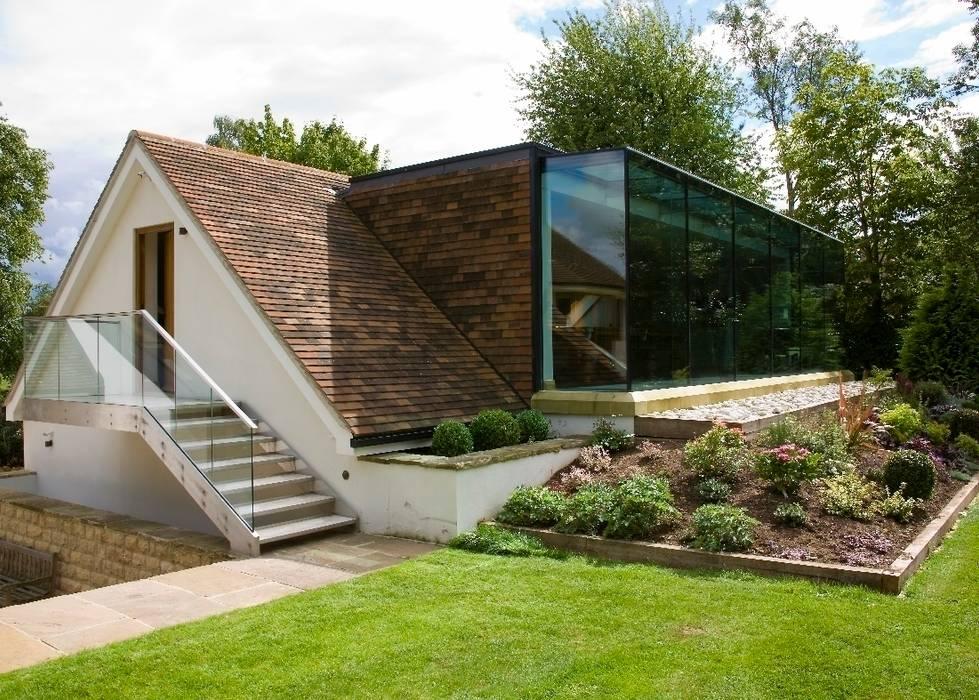 Glass Extension Wildblood Macdonald Moderne Häuser