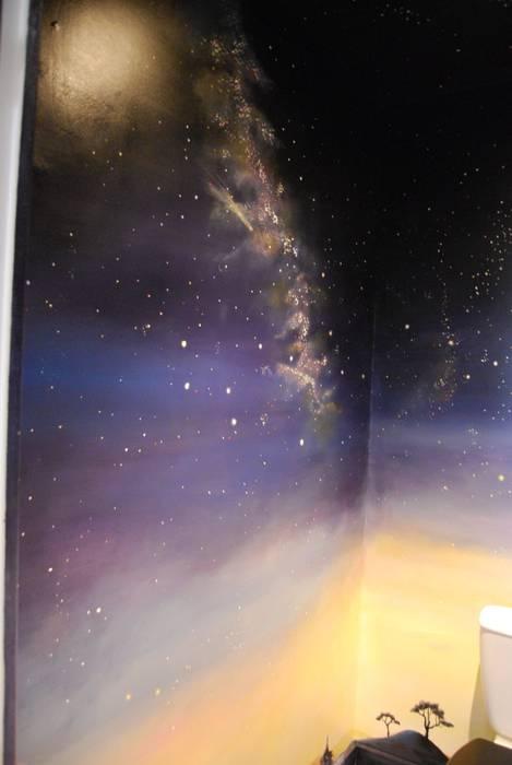 ciel étoilé: Chambre d'enfant de style  par Emilie Cardinale