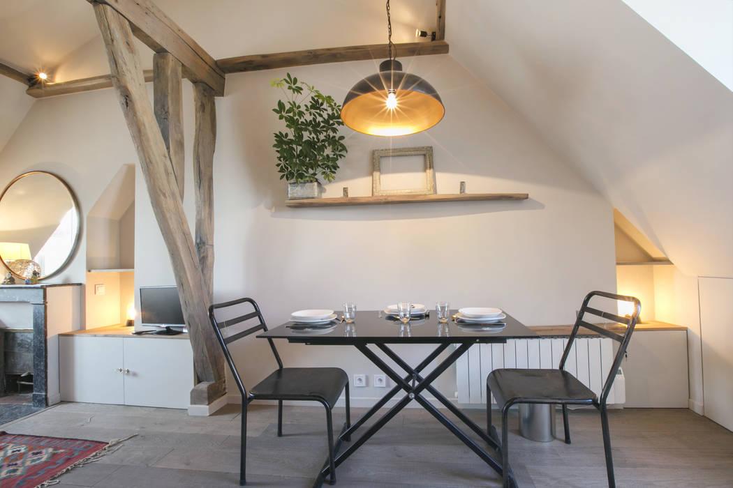rue de rivoli 75001 PARIS Salle à manger scandinave par cristina velani Scandinave