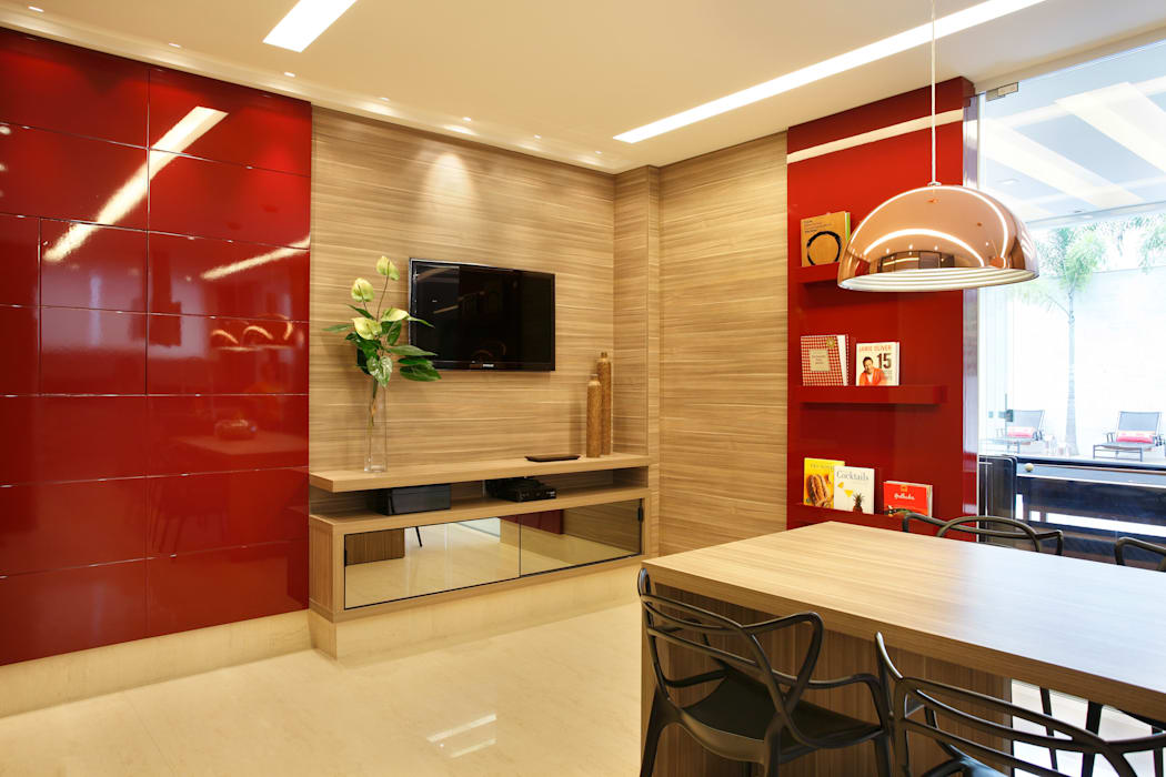 Cozinha Gourmet Cozinhas modernas por Arquitetura e Interior Moderno