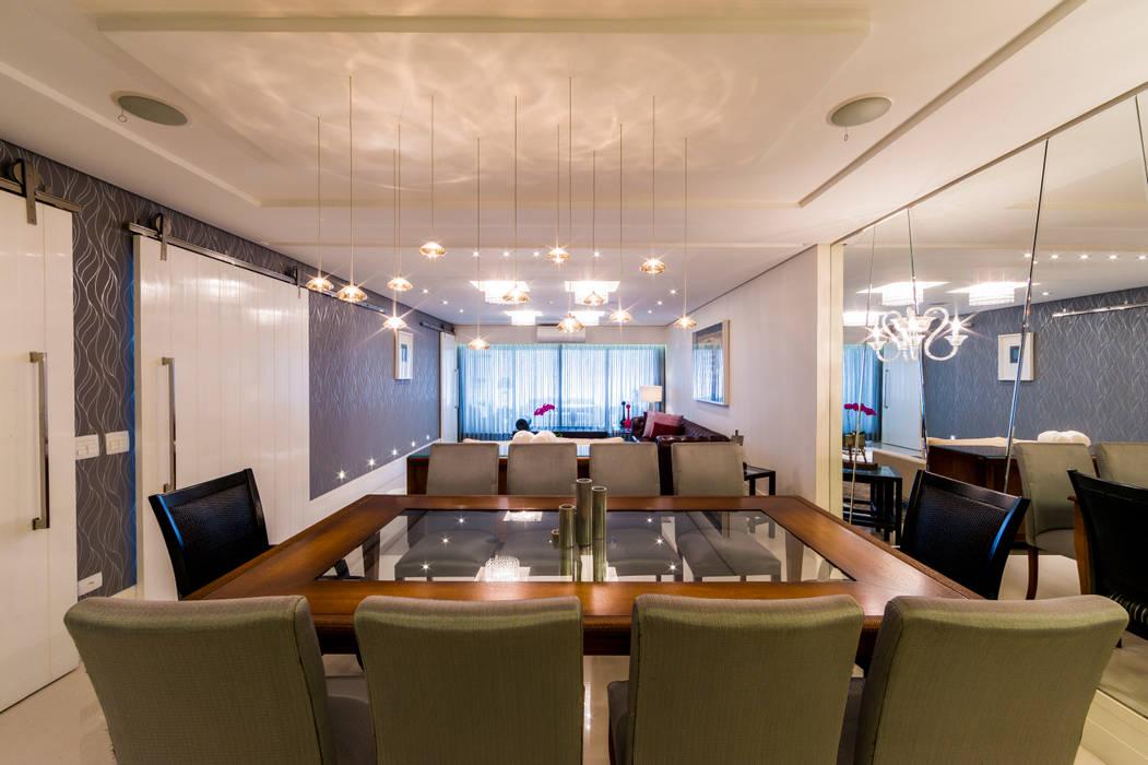 Sala de Jantar Salas de jantar clássicas por Enzo Sobocinski Arquitetura & Interiores Clássico